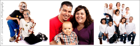 A few of the many families I photographed at Adoption Day 2011