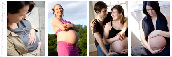 Wardrobe ideas for maternity sessions