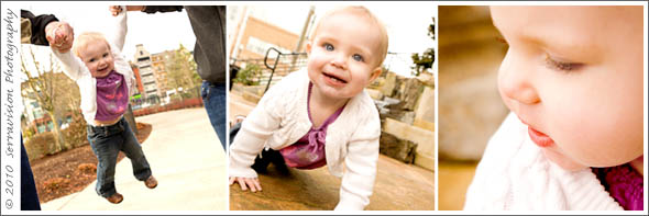 dynamic toddler photo session