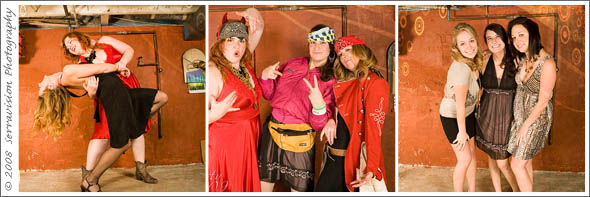 Super fun holiday party photo booth!
