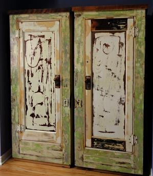 funky reclaimed doors