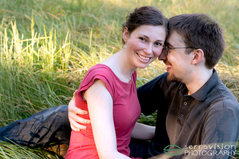 Happy couple - beautiful photo from portland engagement shoot