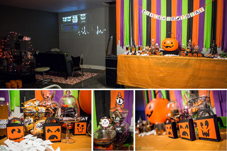 Fun Halloween party at the new photo studio!