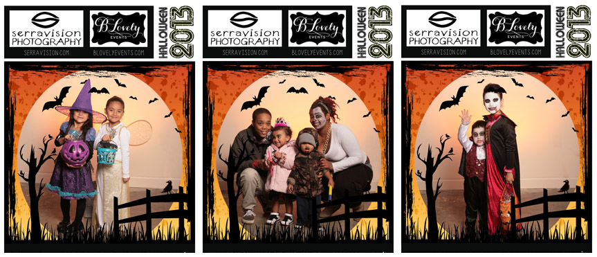 Trick-Or-Treat Photo Booth Pictures