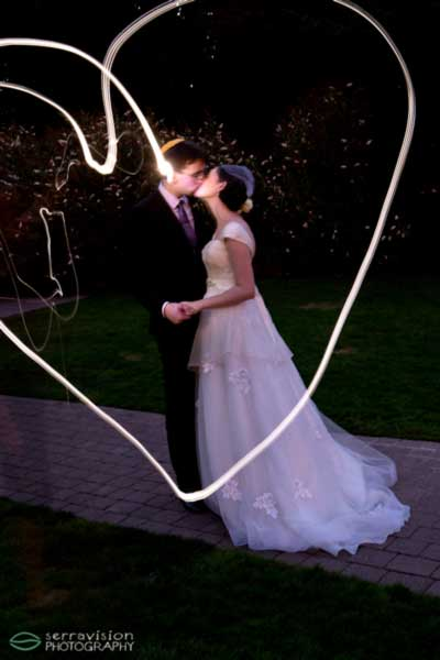 light heart wedding photo Happy Valentines Day!