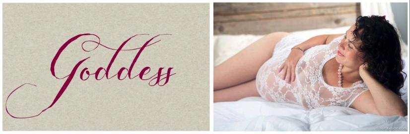 Empowering, Feminine Maternity Photos