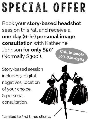 special offer - makeover with headshot session