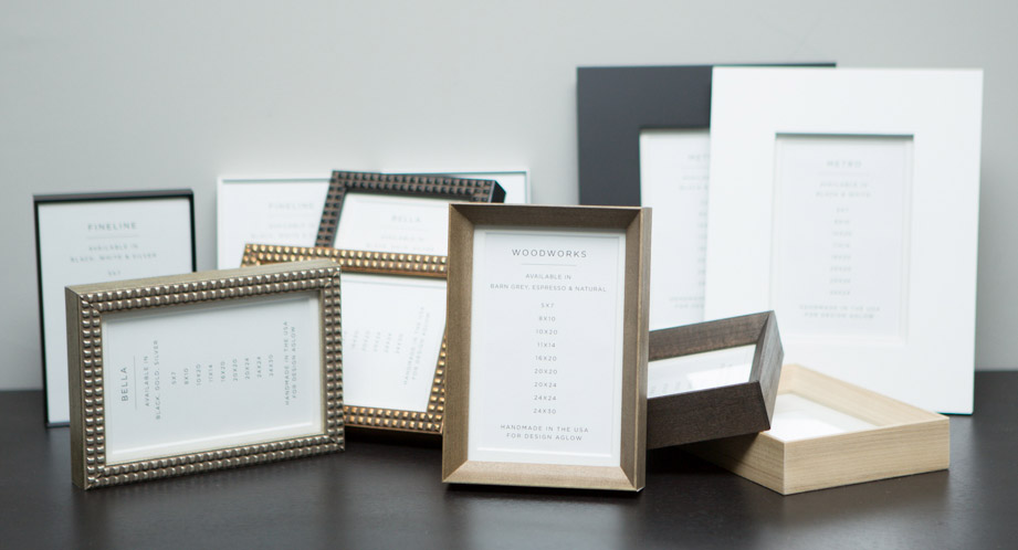 Introducing Beautiful New Line of Gallery Frames!