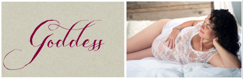 Empowering, Feminine Maternity Photos