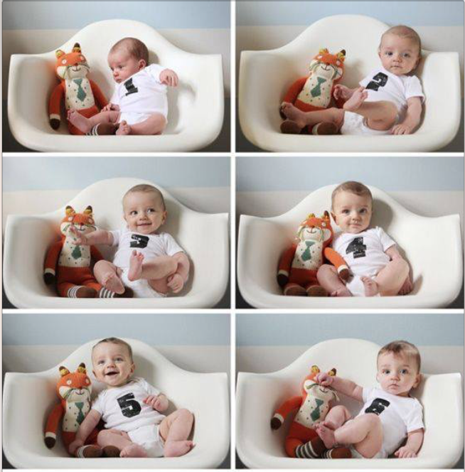 Ideas For Monthly Baby Photos
